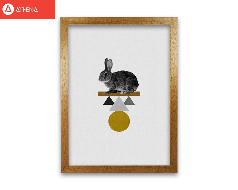Tribal rabbit fine art print by orara studio