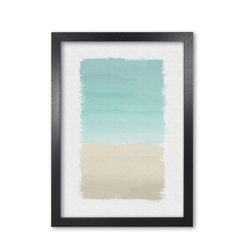 Turquoise abstract fine art print by orara studio