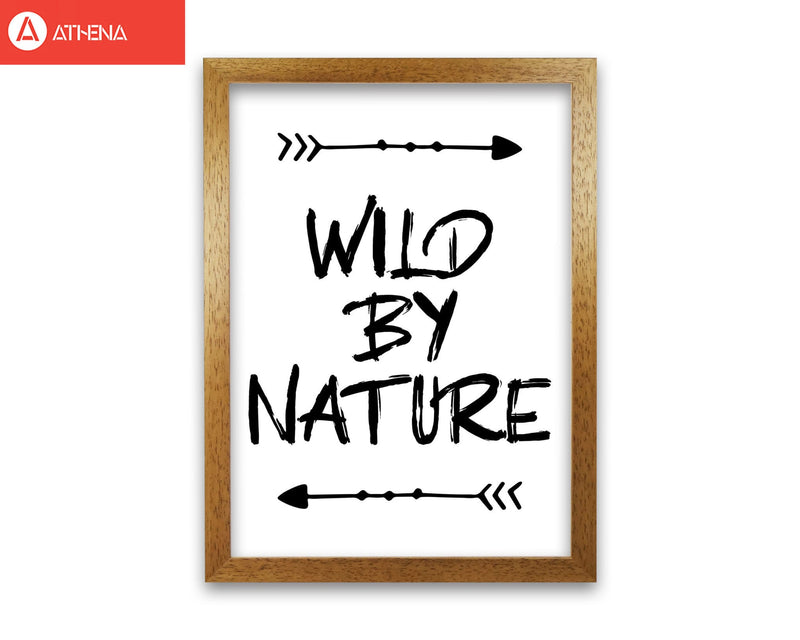 Wild by nature modern fine art print