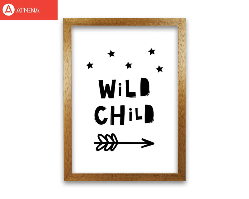 Wild child scandi modern fine art print