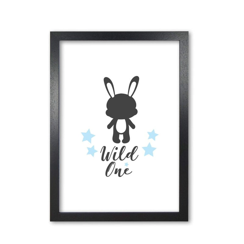 Wild one modern fine art print, framed childrens nursey wall art poster