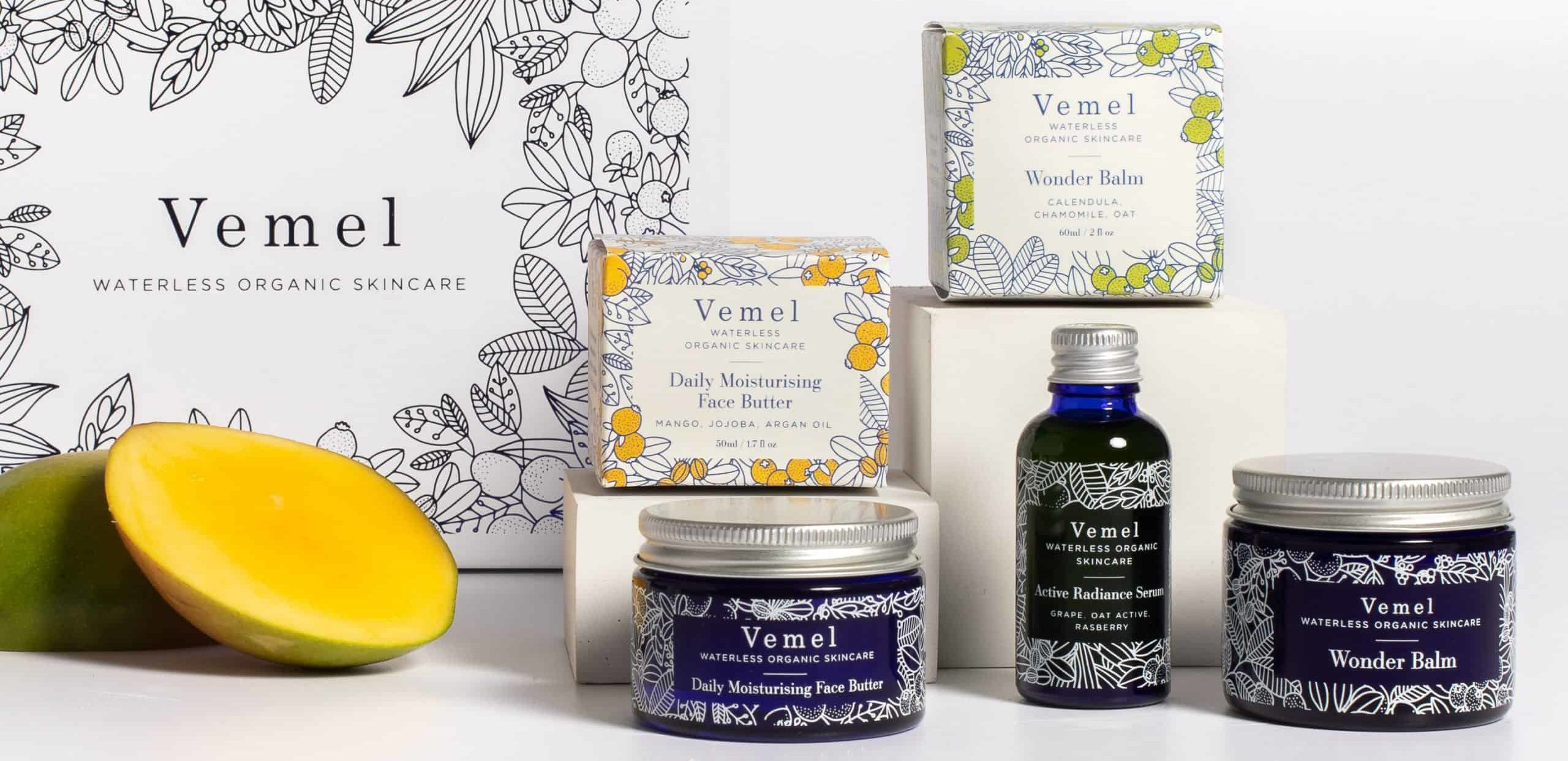Vemel - Waterless, Vegan, Organic, Plastic Free Skin Care