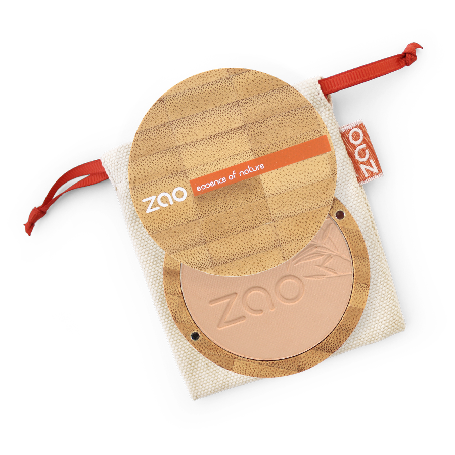 Load image into Gallery viewer, Pressed Powder Compact Refillable- Zao Makeup - Vera-Bee Limited