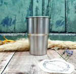 Recycled Stainless Steel Pint Cup – Pack of Four
