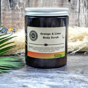 Load image into Gallery viewer, Organic Orange & Lime Body Care Gift Set – Heavenly Organics - Vera-Bee Limited