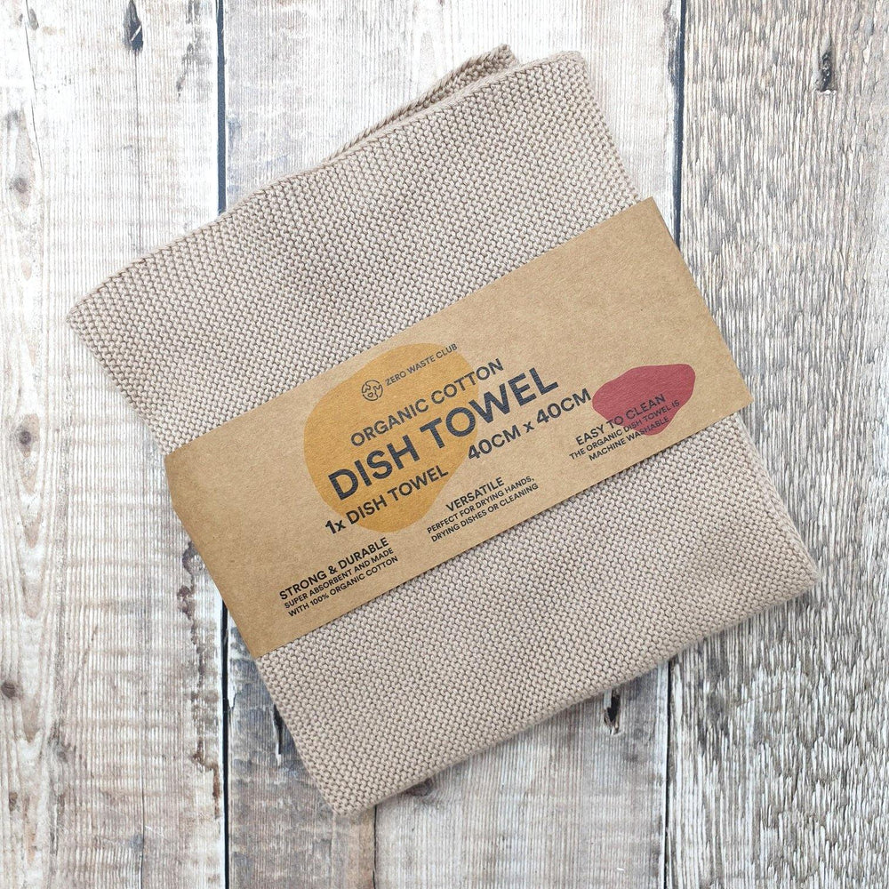 Organic Cotton Dish Towel - Zero Waste Club