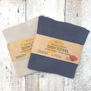 Organic Cotton Dish Towel - Zero Waste Club - Vera-Bee Limited