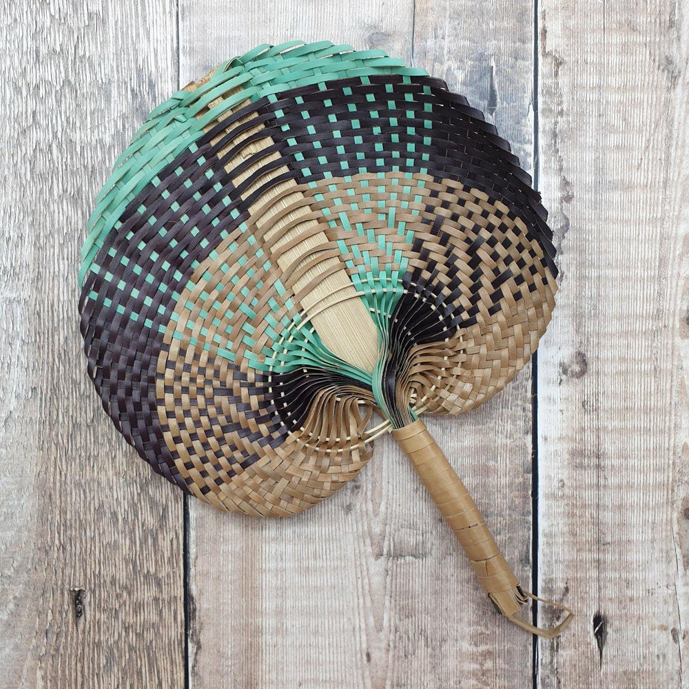 Natural Bamboo Fan - Uma Cantik