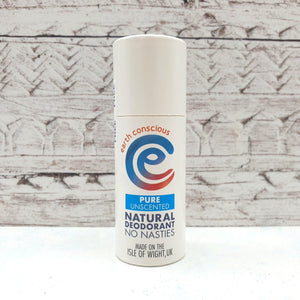 Natural Deodorant Pure Unscented - earth conscious - Vera-Bee Limited
