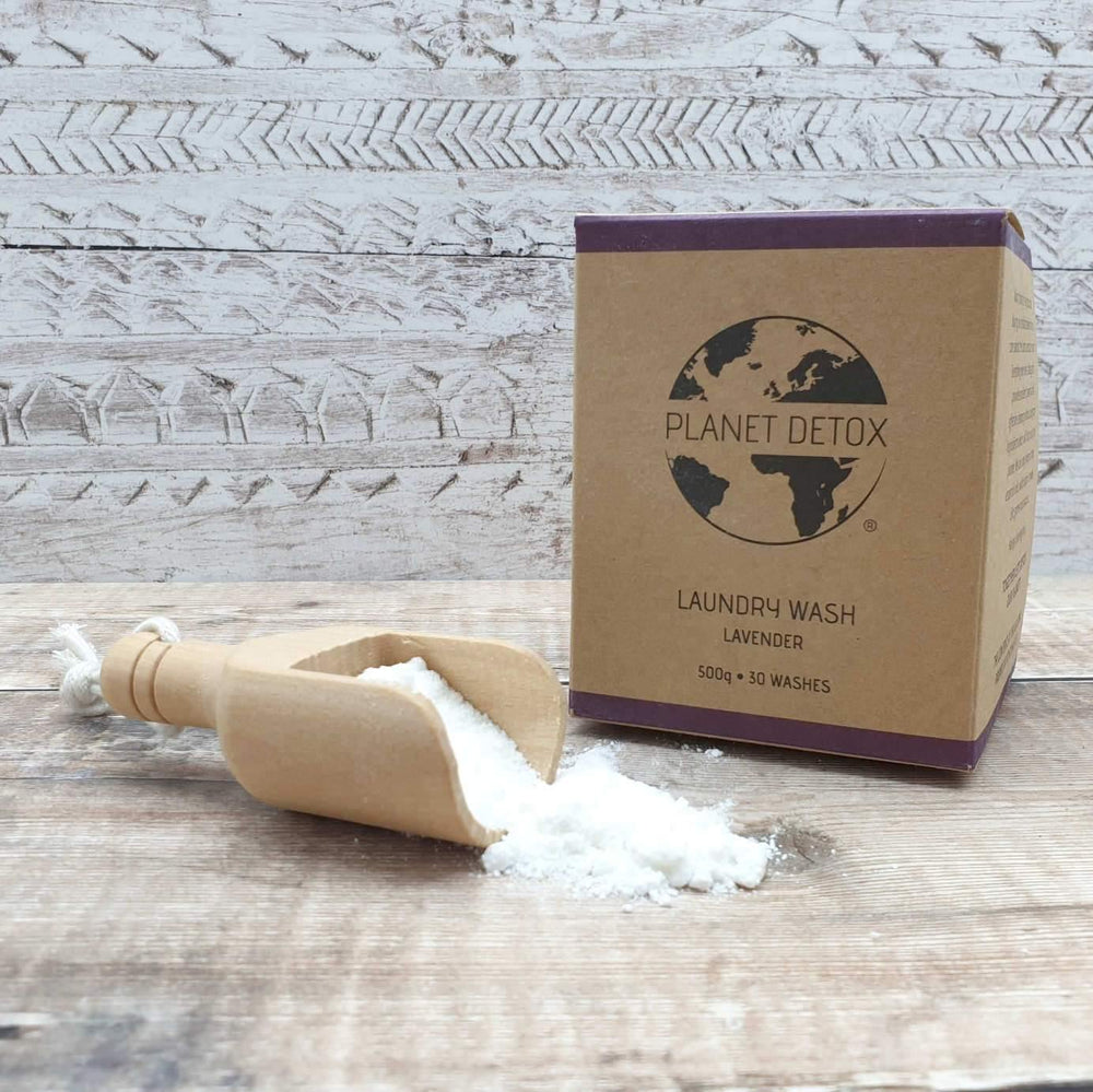 Load image into Gallery viewer, Planet Detox Lavender Laundry Wash - Ecofriendly, Plastic Free & Vegan