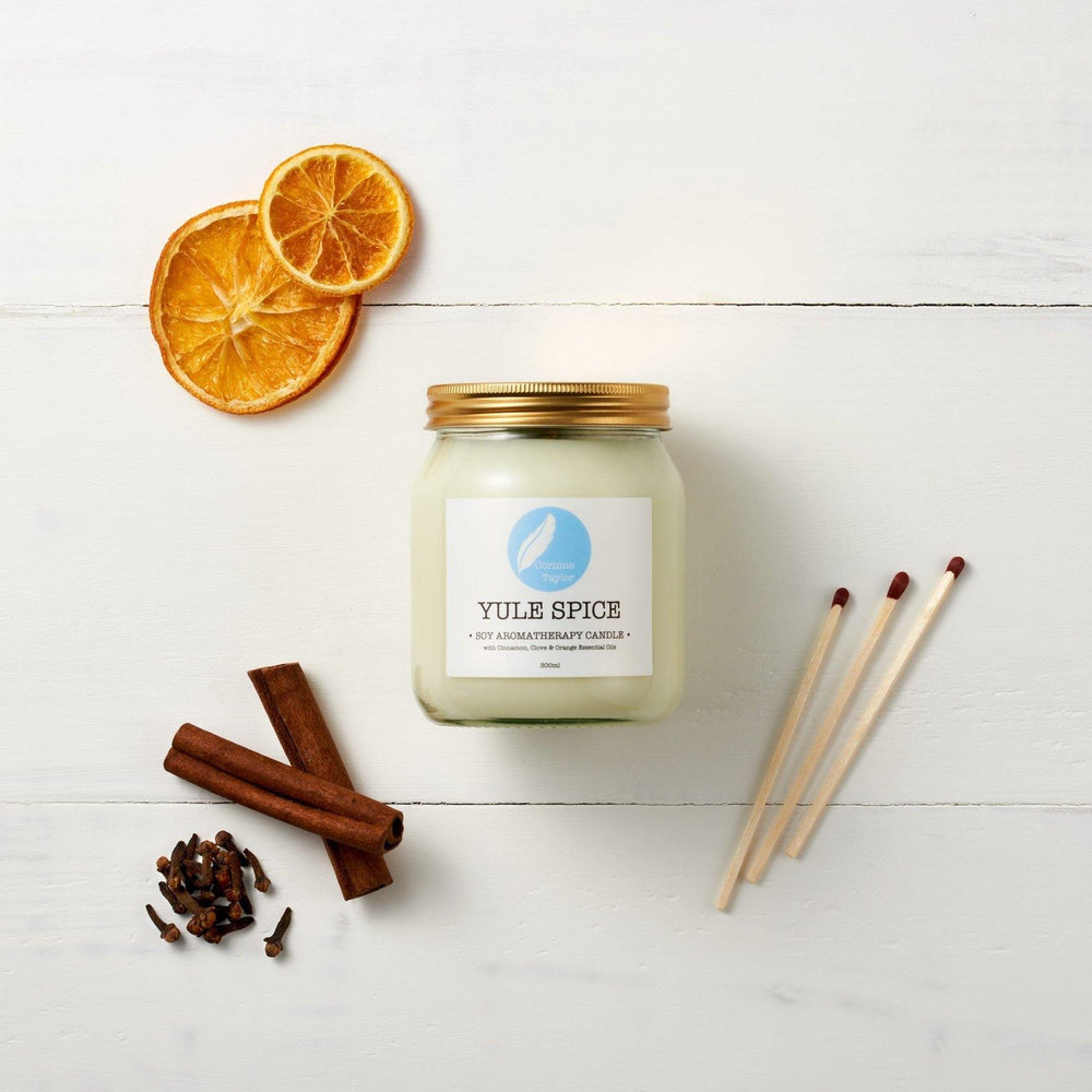 Yule Spice Soy Aromatherapy Candle - Corrine Taylor