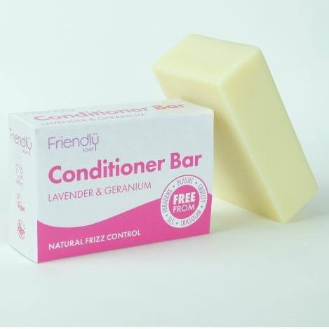 Load image into Gallery viewer, Conditioner Bar Lavender & Geranium - Friendly Soap