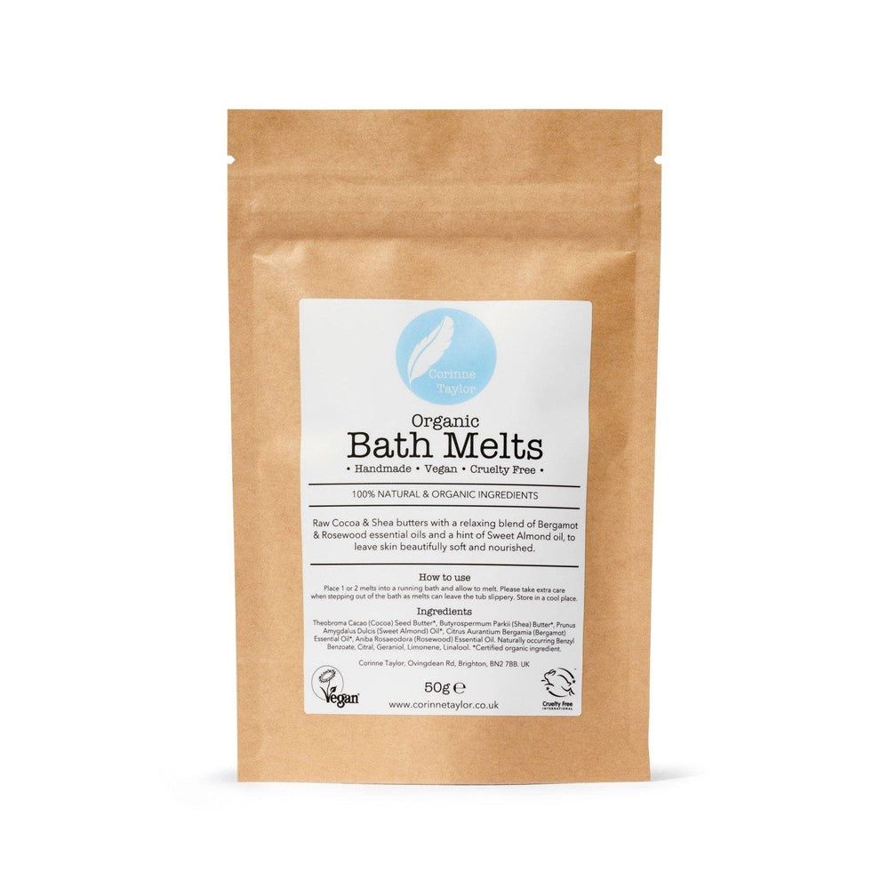 Organic Bath Melts - Corrine Taylor