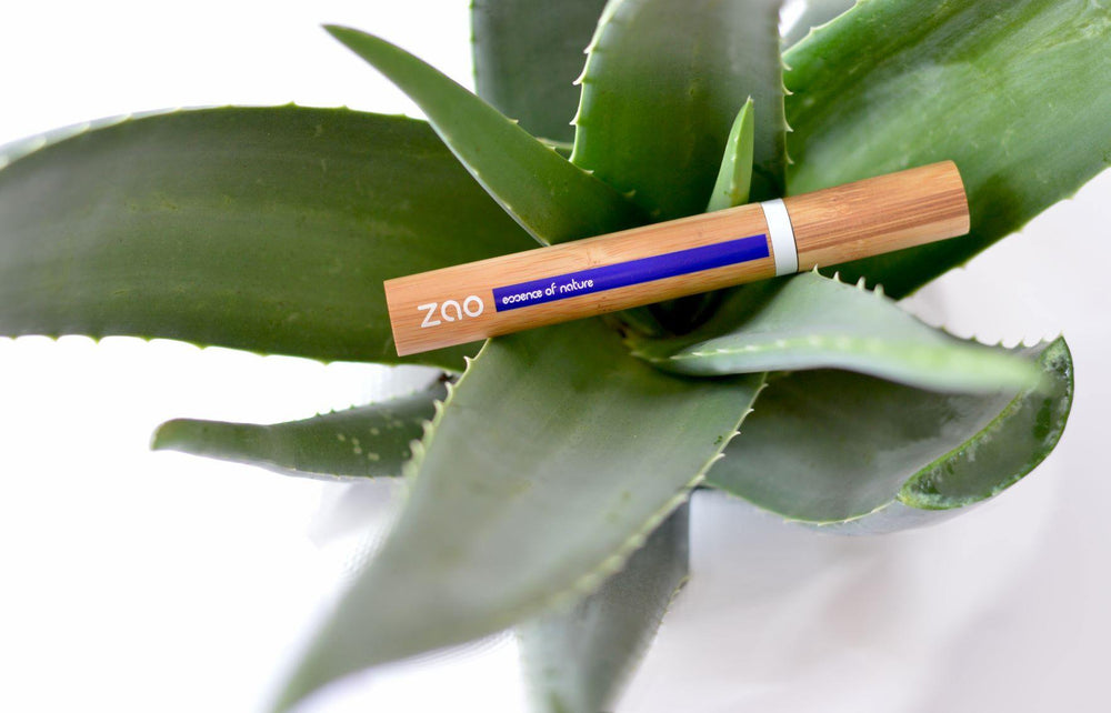 Aloe Vera Mascara Refillable Black 090 - Zao Makeup