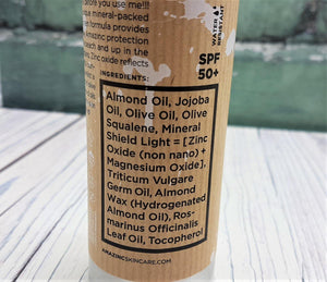 Load image into Gallery viewer, Natural Mineral Vegan Sunscreen SPF50 100ml - Amazinc!