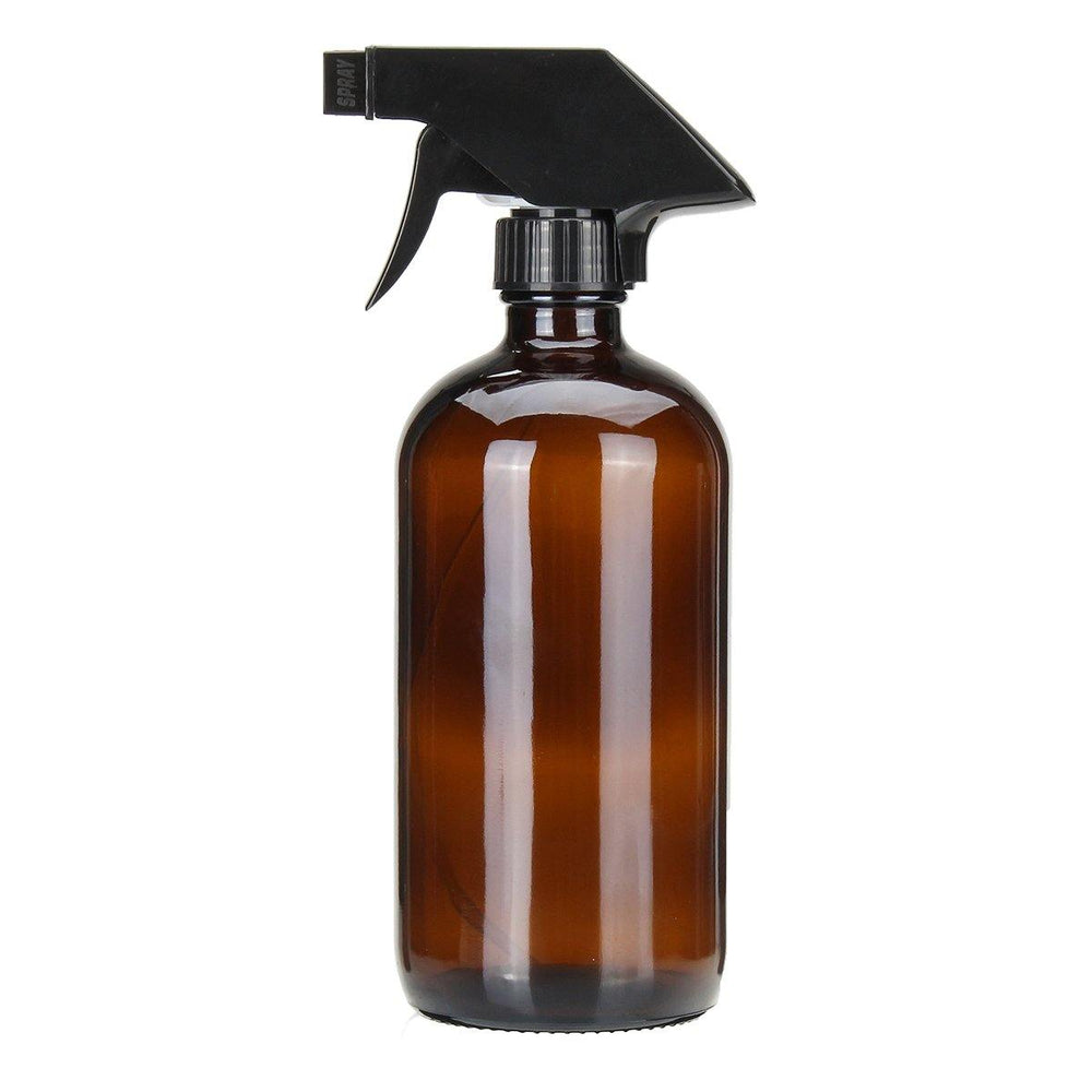 Amber Glass Spray Bottle - 500ml - Vera-Bee Limited