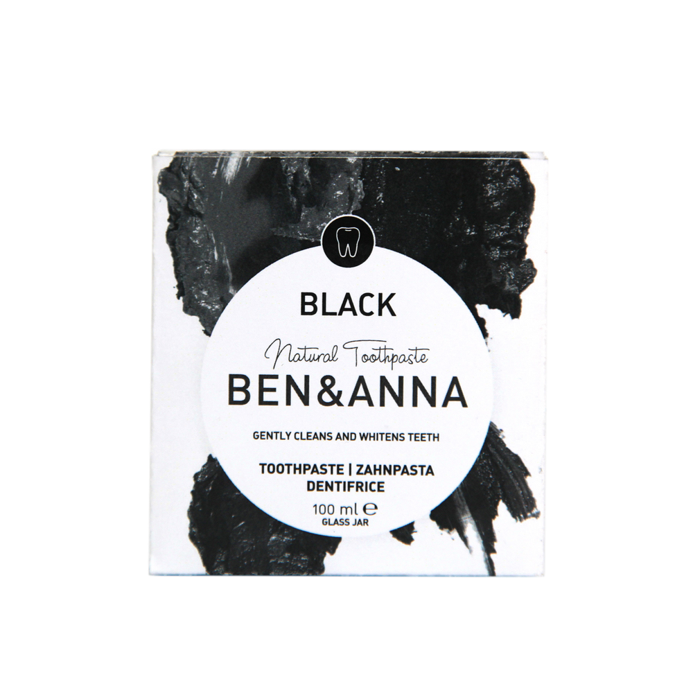 Charcoal Whitening Toothpaste Natural Vegan - Ben & Anna - Vera-Bee Limited