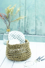 Mendi Sea Grass Basket – 3 Sizes Available
