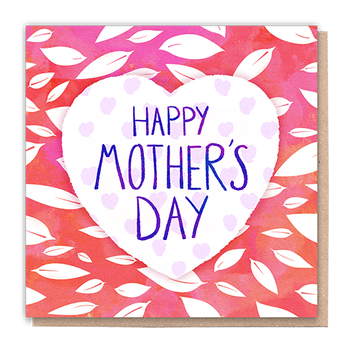 1 Tree Card 100% Recycled Greeting Card Vegan Inks - Mother's Day Love