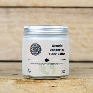 Organic Unscented Baby Butter - Heavenly Organics - Vera-Bee Limited