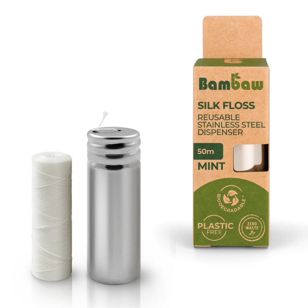 Natural Silk Dental Floss - Bambaw
