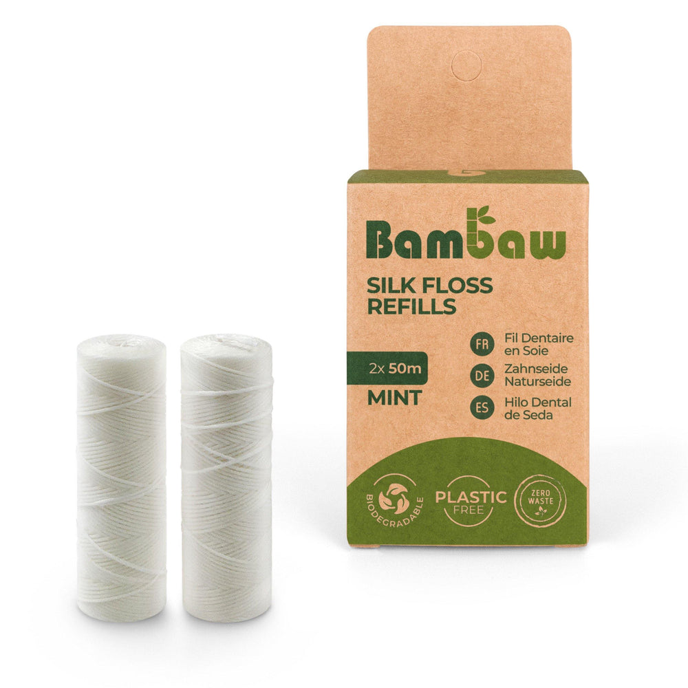 Load image into Gallery viewer, Natural Silk Dental Floss Refill- Bambaw