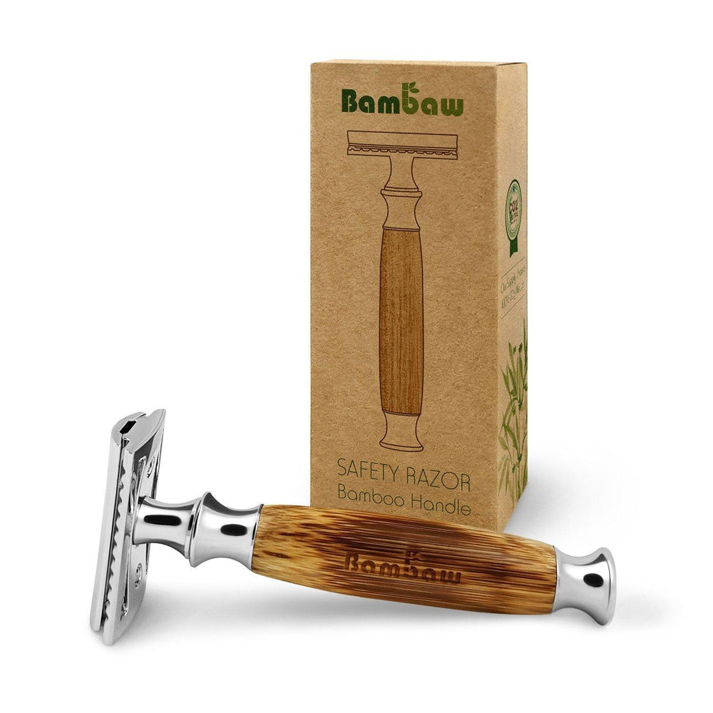 Wooden Safety Razor Reusable Unisex - Bambaw