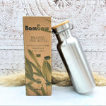 Stainless Steel Water Bottle Insulated 500ml - Bambaw