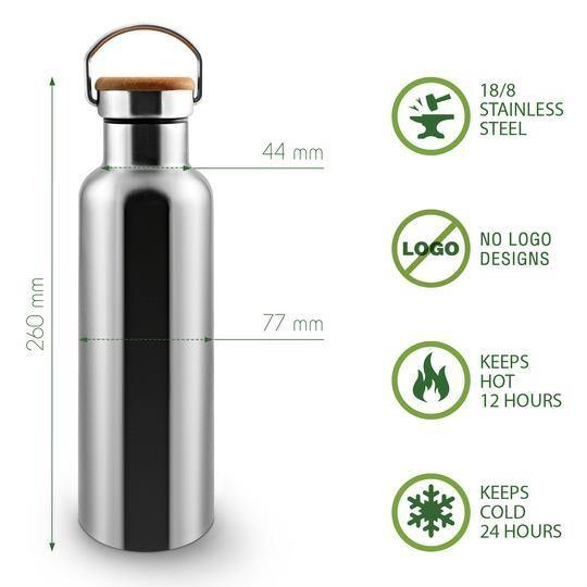 Load image into Gallery viewer, Insulated Stainless Steel Water Bottle & Charcoal Water Filters