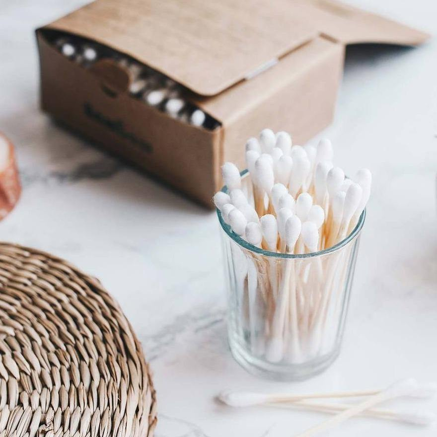 Bamboo Cotton Buds x 200 - Bambaw
