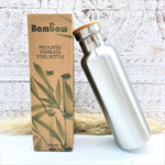 Stainless Steel Water Bottle Insulated 750ml - Bambaw