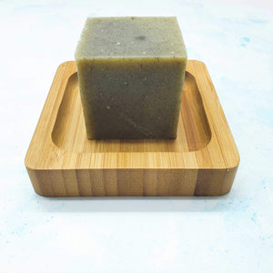 Bamboo Soap Dish Square - Vera-Bee Limited