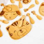 Tiger Bamboo Plate - Sass & Belle
