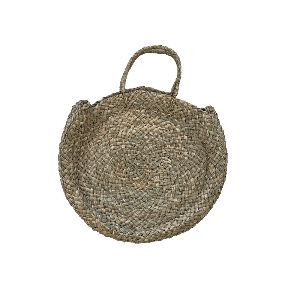 Basket Bag in Natural - Seagrass - Vera-Bee Limited