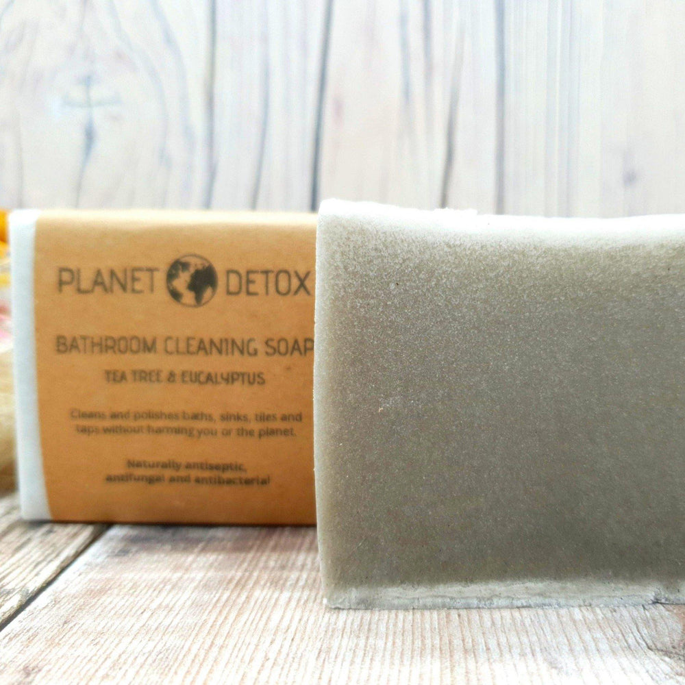 Bathroom Cleaning Soap. Tea Tree & Eucalyptus. Vegan, natural, plastic free. Vera-Bee.