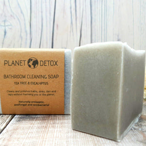 Load image into Gallery viewer, Bathroom Cleaning Soap. Tea Tree & Eucalyptus. Vegan, natural, plastic free. Vera-Bee.