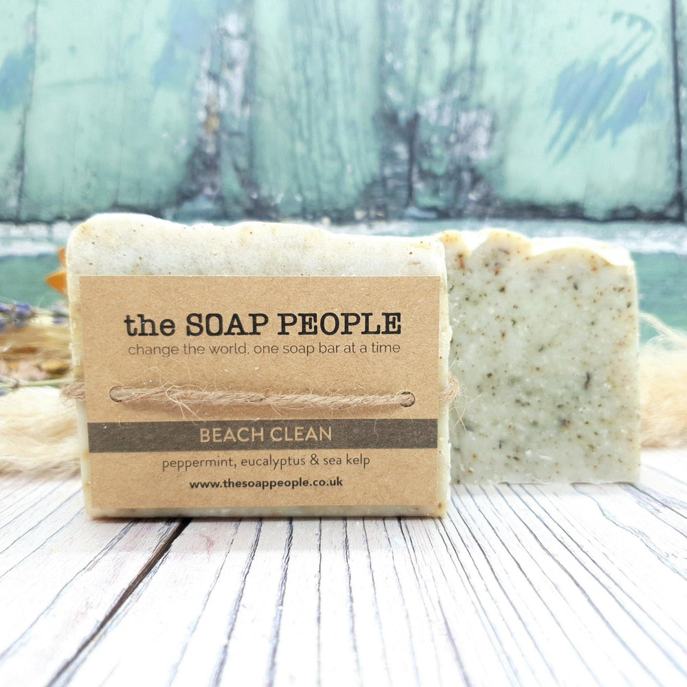 Peppermint, Eucalyptus & Sea Kelp Natural Soap Bar - The Soap People