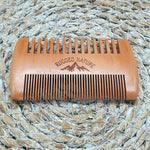 Double Sided Beard Comb - Rugged Nature