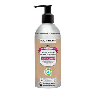 Plastic Free Vegan Intense Moisture Organic Conditioner - Beauty Kitchen