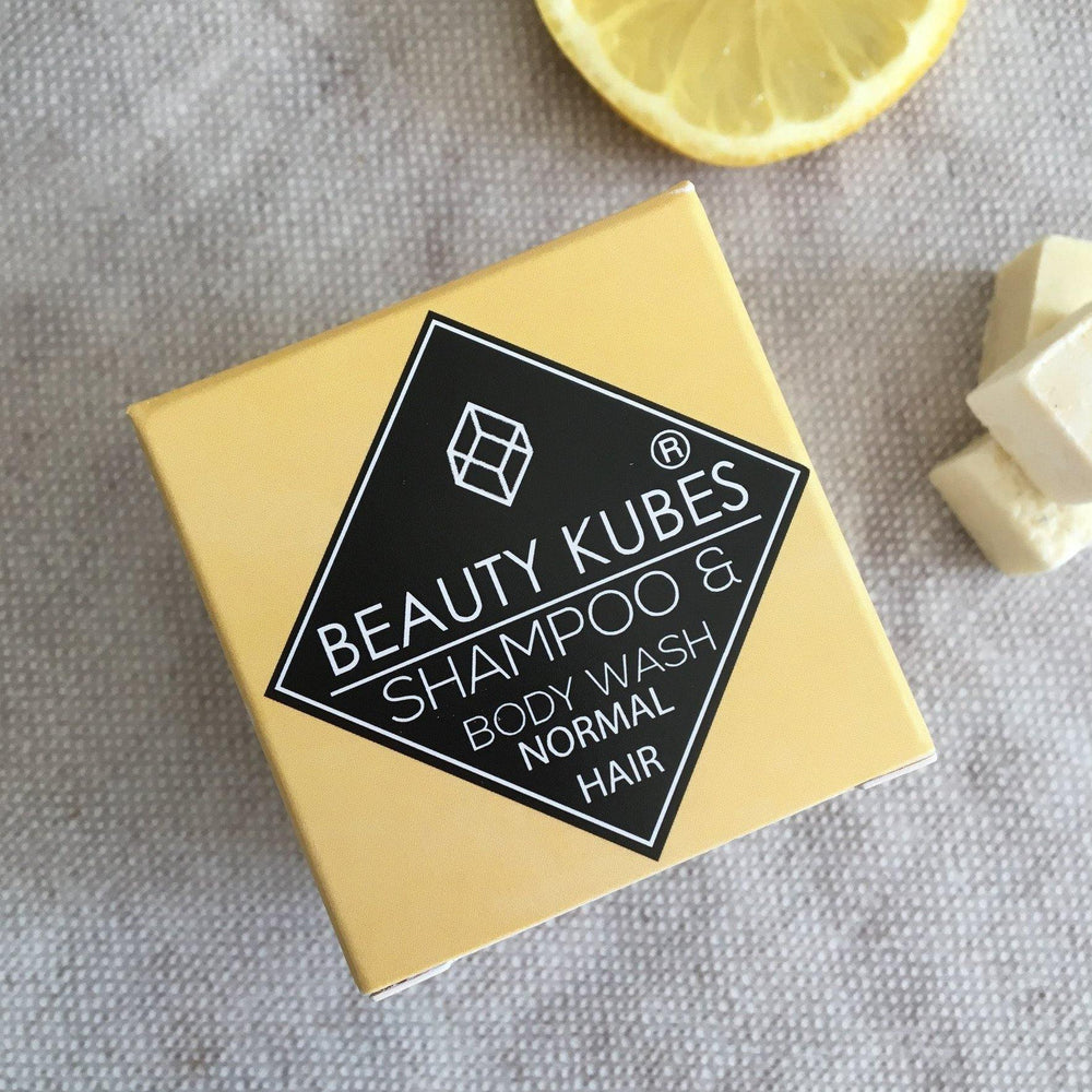 Beauty Kubes Shampoo & Body Wash Plastic Free - Normal Hair - Vera-Bee Limited
