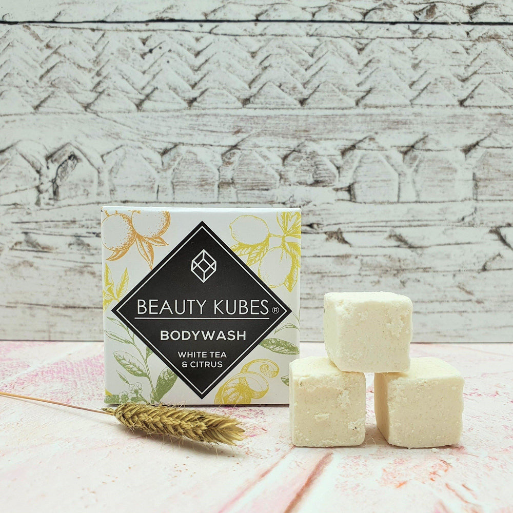 Beauty Kubes Body Wash Plastic Free - White Tea & Citrus