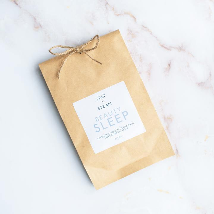 Bath Salts Beauty Sleep - Salt + Steam - Vera-Bee Limited