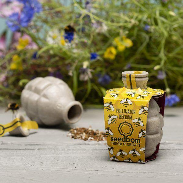 Beebom Pollinator Seedbom - Save The Bees