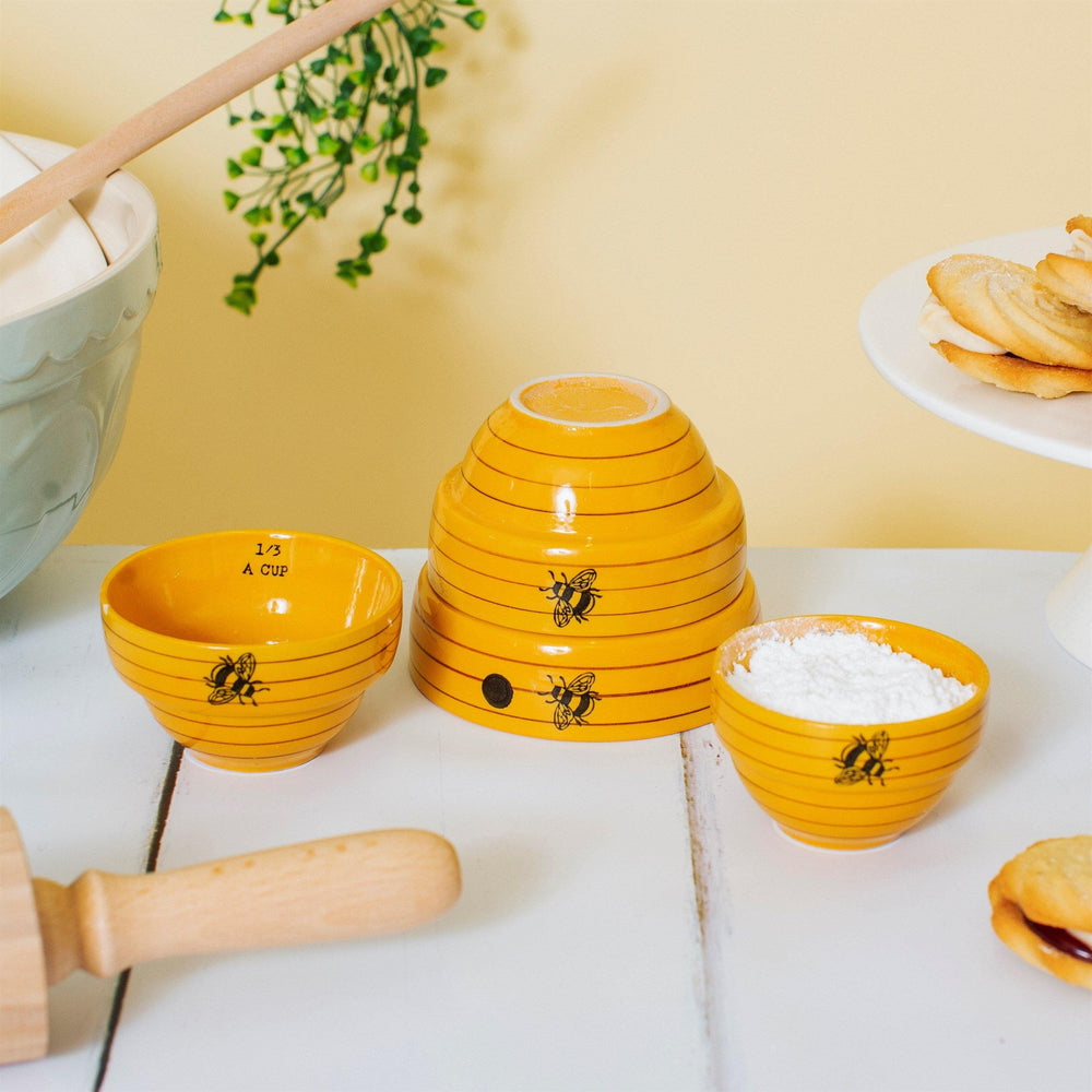 Bee Hive Measuring Bowls - Sass & Belle