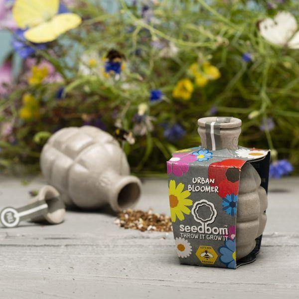 Beebom Urban Bloomer Seedbom - Save The Bees