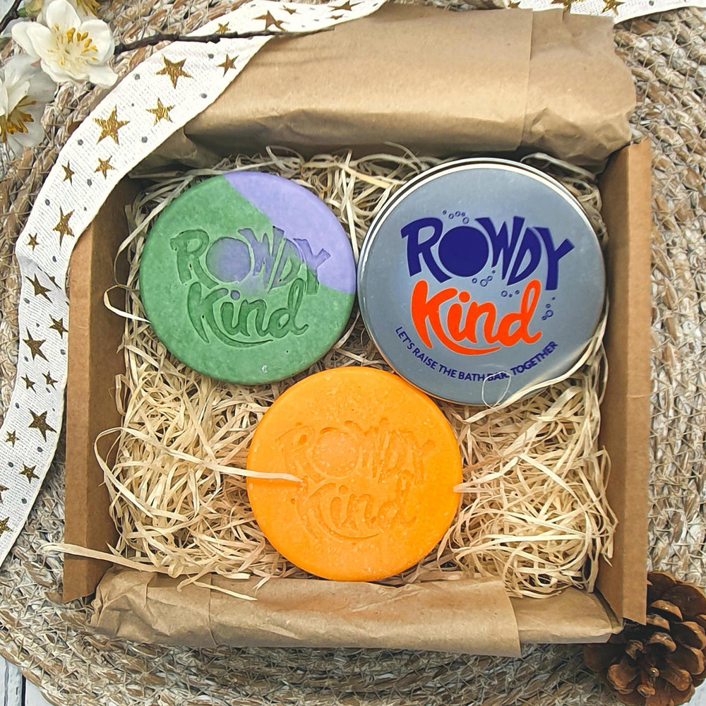 Children's Berry & Mango Bath Set - Rowdy Kind