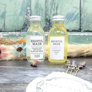 Load image into Gallery viewer, Cleanser & Toner Oil Lavender & Geranium – BristolMade