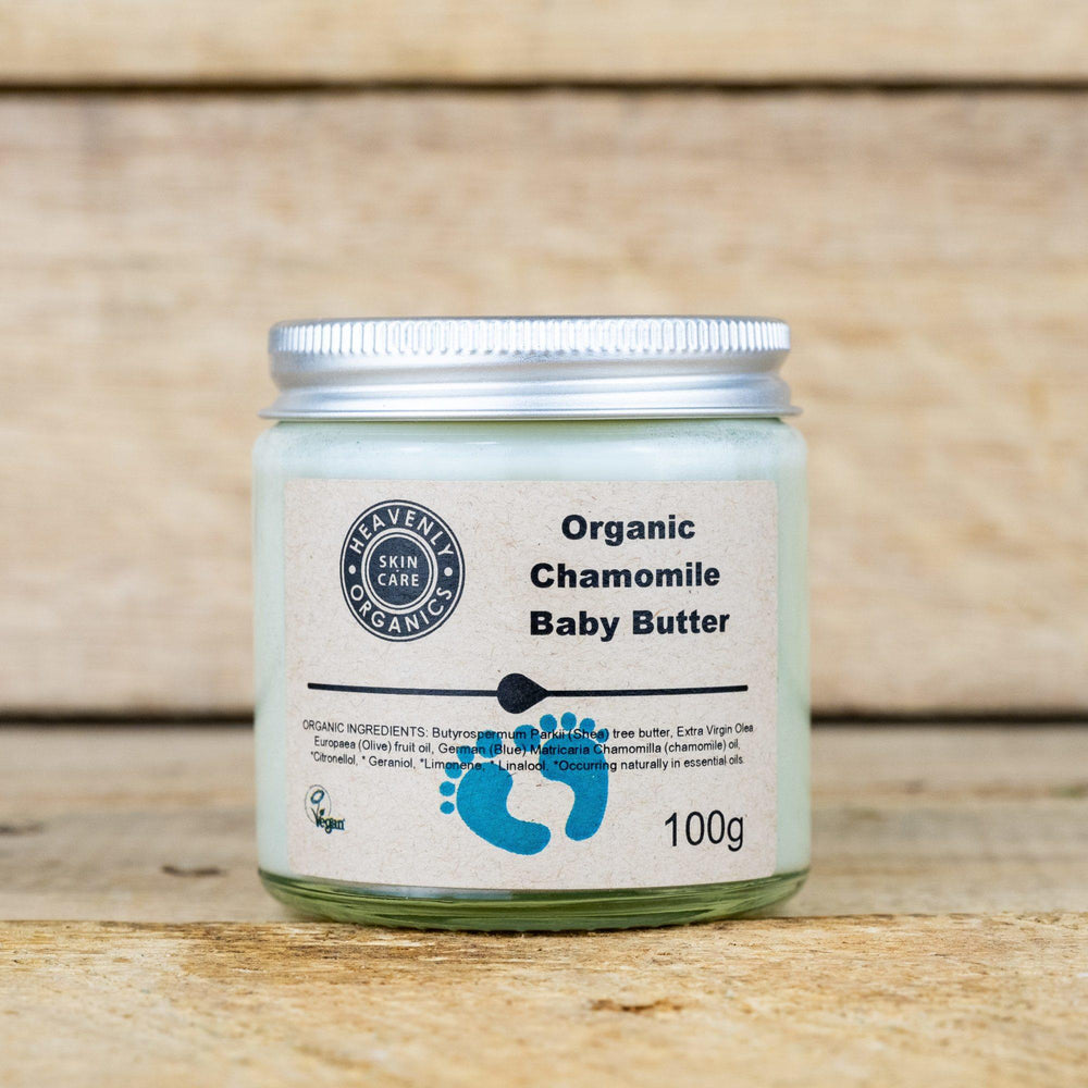 Load image into Gallery viewer, Organic Chamomile Baby Butter - Heavenly Organics