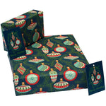 Eco-friendly Recycled Christmas Wrapping Paper - Baubles
