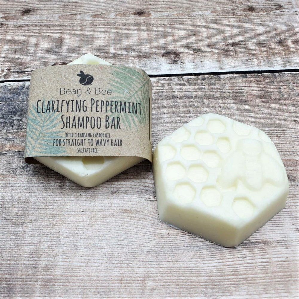 Clarifying Peppermint Shampoo Bar - Bean and Bee